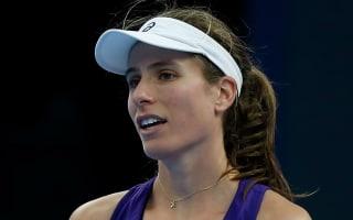 Williams beaten as Konta withdraws from Hong Kong Open