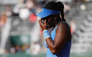 Defending champ Stephens exits Citi Open, seeds fall in Stanford