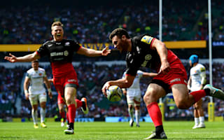 Super Saracens complete double despite brave Exeter rally