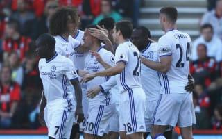 Bournemouth 1 Chelsea 3: Conte's men restore seven-point lead