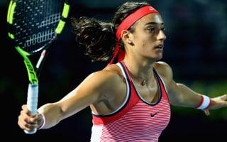 Garcia through as Wozniacki, Konta lose