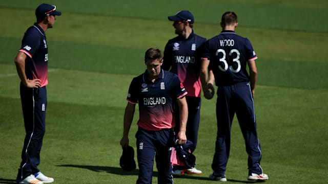 England's Woakes out of Champions Trophy