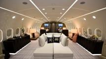 Date un paseo por el único Boeing 787 Dreamliner privado del mundo