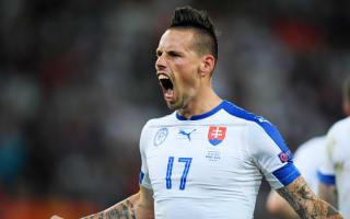 Russia 1 Slovakia 2: Superb Hamsik inspires maiden Euros win