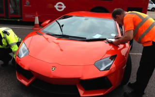 Lamborghini Aventador worth £400,000 seized by police