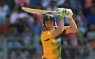 Proteas off the mark thanks to De Villiers heroics