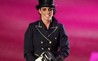 Katie Price hints at Olympic dressage ambitions