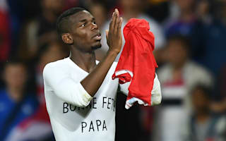 Deschamps hails Pogba as 'heart and soul' of France