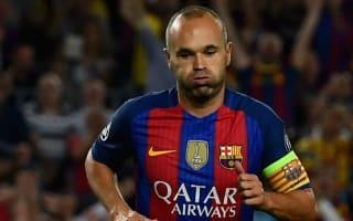 Luis Enrique: Only Iniesta can decide his Barcelona future
