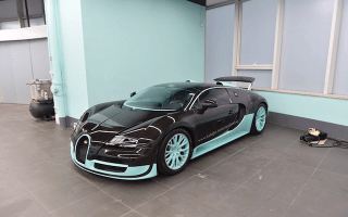 One-of-a-kind Bugatti Veyron up for sale in Hong Kong