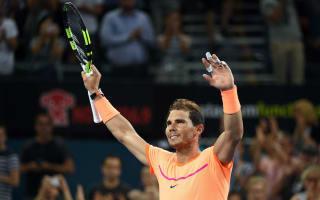 Nadal sees off fiery Dolgopolov on ATP Tour return