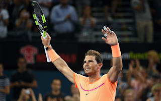Nadal sees off fiery Dolgopolov on ATP Tour return