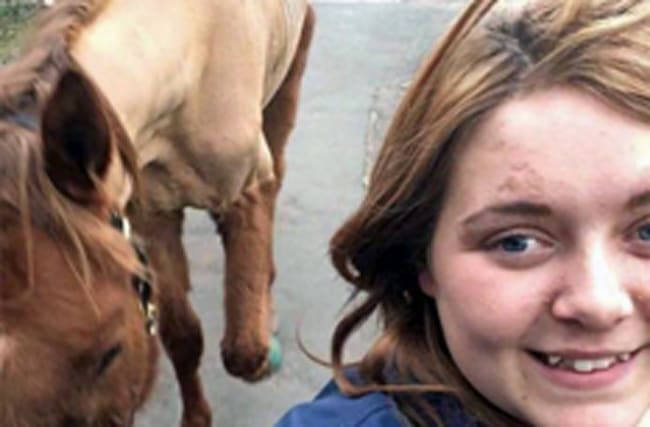 Rider who took selfie with skeletal horse given ownership ban