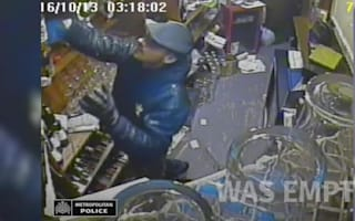 Man attempts to steal from till, leaves with peanuts
