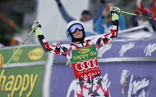 Brem increases giant slalom advantage, Gut takes overall lead