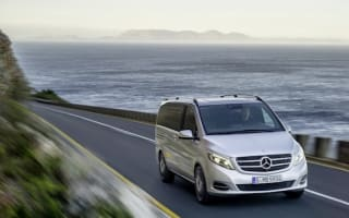 Mercedes unveils stylish V-Class people mover
