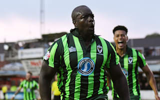 Accrington Stanley 2 AFC Wimbledon 2 (aet, 2-3 agg): Akinfenwa, Taylor send Dons to Wembley