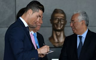 Ronaldo liked the bust (once the wrinkes were smoothed out!) - ridiculed sculptor reveals all