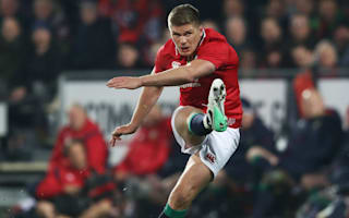 Farrell's boot earns Lions battling win over Crusaders