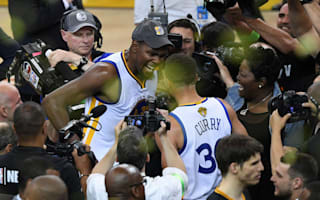 Durant: Curry played like a big dog