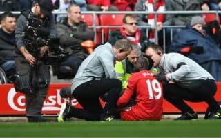 Mane injury spoils derby win for Klopp