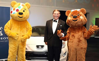 Peugeot gives Pudsey bear a fundraising lift
