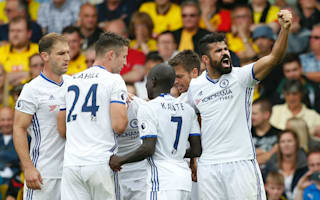 Watford 1 Chelsea 2: Batshuayi and Costa leave it late for Conte's men