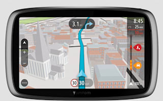 Win! A TomTom sat nav and carry case, worth over £300