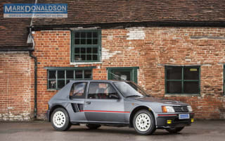 Iconic Peugeot 205 T16 is the ultimate '80s rally car for the road