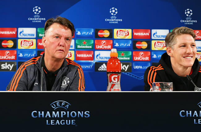 Van Gaal confident Schweinsteiger will get back to his best