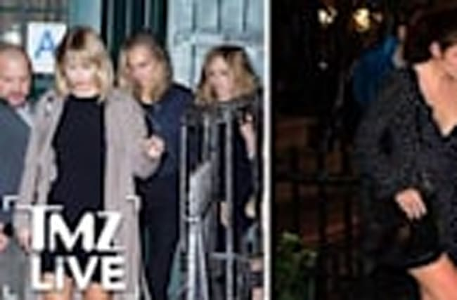 Taylor Swift's Night Out With Girlfriends (TMZ Live)