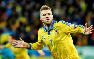 Ukraine 2 Slovenia 0: Yarmolenko shines as hosts take control