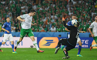 Italy 0 Republic of Ireland 1: Brady the hero as O'Neill's side reach last 16