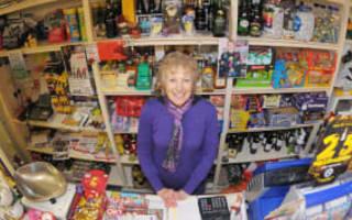 Living-room postmistress honoured