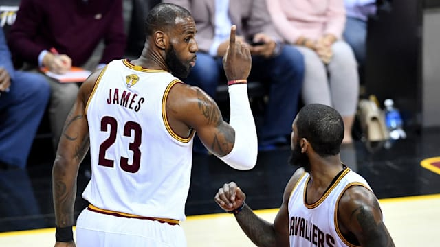 LeBron and co not about to give up on NBA Finals