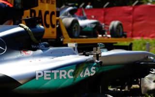 Hamilton and Rosberg explain Spanish Grand Prix crash