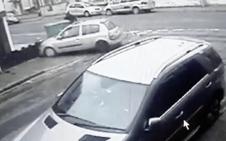 Cardiff man in near-miss with out-of-control car