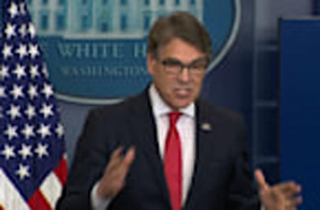 """Make nuclear energy cool again"": Rick Perry"