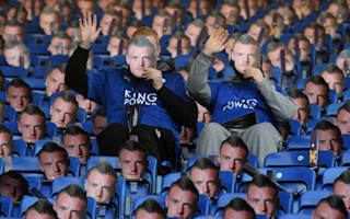 Leicester dish out thousands of Jamie Vardy masks in ban protest