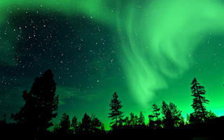 Northern Lights dazzle Finland stargazers