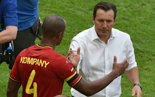 Wilmots to plan for Belgium future without Kompany