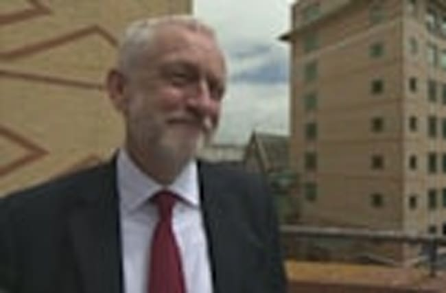 YouGov poll brings smile to Jeremy Corbyn's face