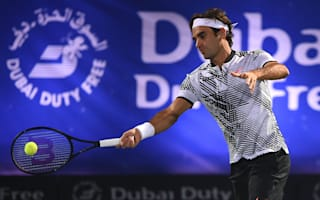 Murray cruises in Dubai as Federer crashes out