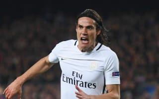 Saint-Etienne 0 Paris Saint-Germain 4: Cavani and Lucas at the double to postpone Monaco celebrations