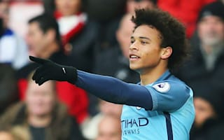 He still disappears - Guardiola not getting carried away with Sane form