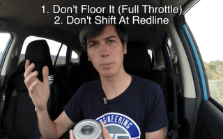 Here are five things you should never do in a new vehicle