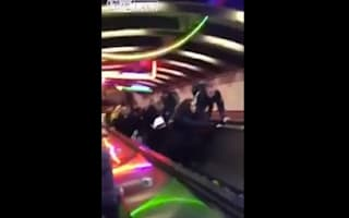 Video: Five injured as train station escalator speeds up and goes backwards