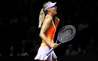 Sharapova highlights improved focus after second win