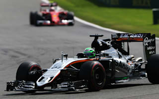 Hulkenberg thrilled with Spa finish