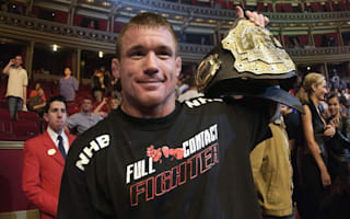 Former UFC champion Hughes hospitalised after truck hit by train